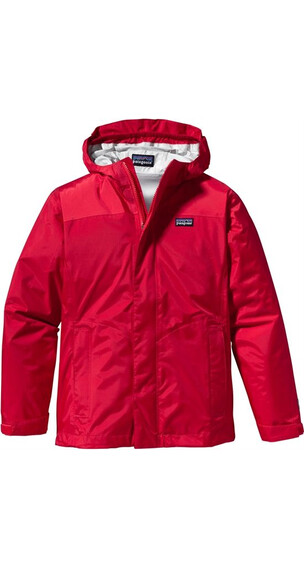 Patagonia Girls Torrentshell Jacket Maraschino